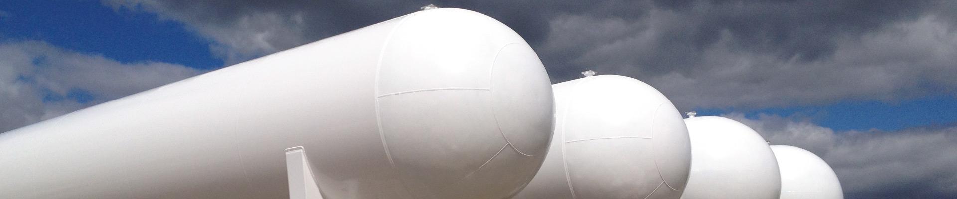 LPG, NH3, NGL Storage Tanks