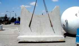 Pre-Cast Concrete Piers