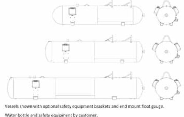 17 Quality Steel Corporation NH3 Nurse Tanks