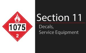Decals & Service Equipment
