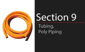 Tubing & Poly Piping