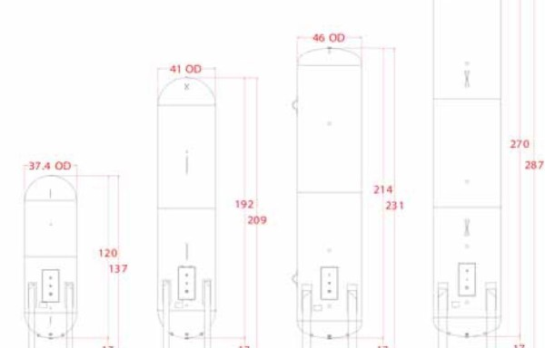 18 Quality Steel Corporation Vertical and Horizontal Dispenser Tanks