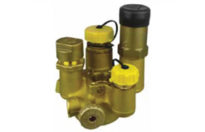 27 Underground Multi-Service Valve with Integrated Evacuation Valve