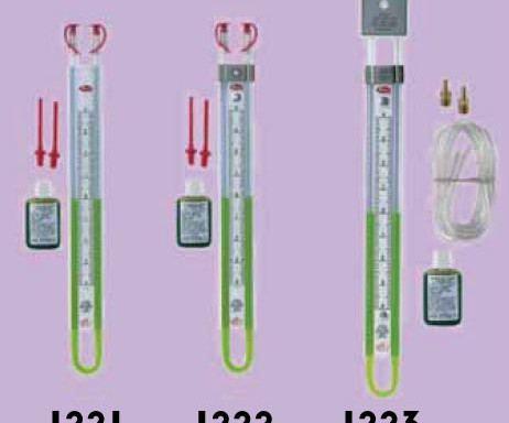 07 Service Equipment U-Tube Manometers